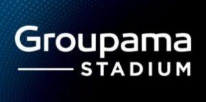 logo groupama stadium lyon